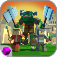 Blocky Troops Battle Simulator