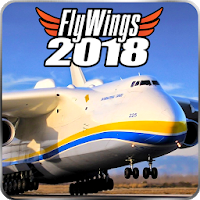 Flight Simulator 2018 FlyWings [Мод: Unlocked]